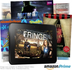 Kindle amazon prime